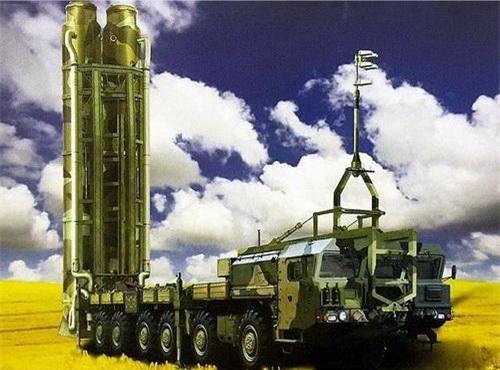 Đồ họa xe mang phóng tự hành của tổ hợp phòng không S-500 Prometheus. Ảnh: Ria Novosti.