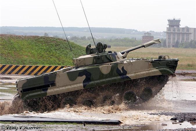 Xe chiến đấu bộ binh BMP-3. Nguồn ảnh: Vitaly-Kuzmin