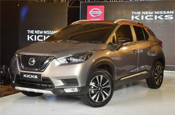 Mẫu crossover Nissan Kicks mới ra mắt thị trường Ấn Độ.
