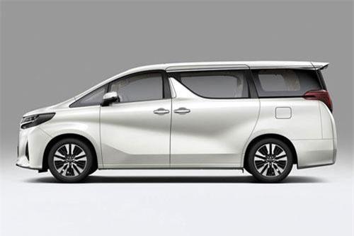 Toyota Alphard (doanh số: 24 chiếc).