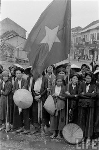 Anh doc: Ha Noi vui nhu hoi ngay giai phong 10/10/1954