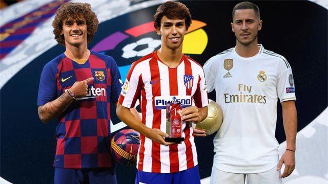 Barcelona, Real Madrid, Atletico Madrid đều chiêu mộ những tân binh đắt giá
