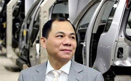 Ông Phạm Nhật Vượng - Chủ tịch Vingroup.