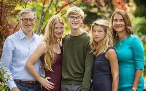 Gia đình tỷ phú Bill Gates