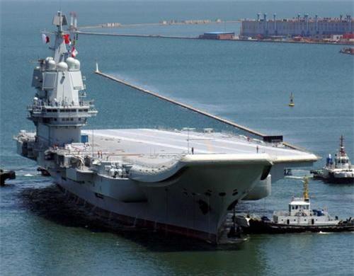 Tàu sân bay nội địa Type 002 của Hải quân Trung Quốc. Ảnh: China Defence.
