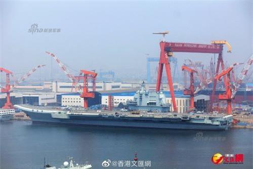 Tính năng kỹ chiến thuật của tàu sân bay Type 002 là rất đáng gờm. Ảnh: Sina.