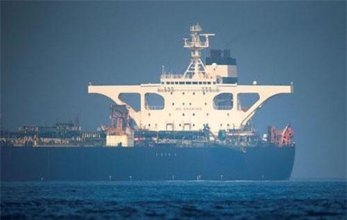Siêu tàu Grace 1 chở dầu Iran. Ảnh: Reuters.