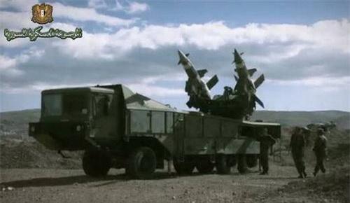 Tổ hợp tên lửa phòng không Pechora-2M của Quân đội Syria. Ảnh: South Front.