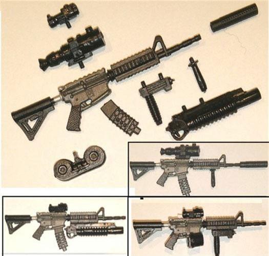 """Giống như nhiều loại súng trường tấn công của Mỹ ra đời trong thời buổi hiện đại này, súng M4 Carbine có khả năng """"thiên biến vạn hóa"""" với nhiều hình dạng khác nhau với số lượng phụ kiện bán kèm cực khủng. Nguồn ảnh: Flickr."""