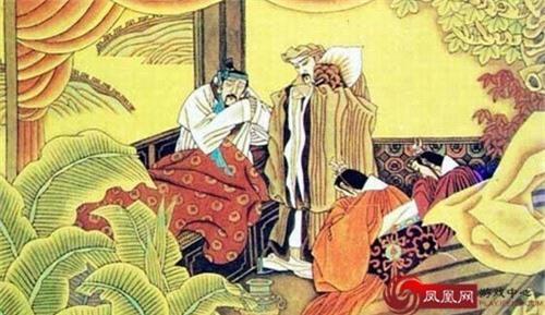 Lưu Bị thác cô cho Gia Cát Lượng ở thành Bạch Đế.
