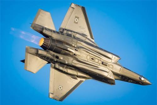 Tiêm kích tàng hình F-35I Adir của Không quân Israel. Ảnh: IAF.