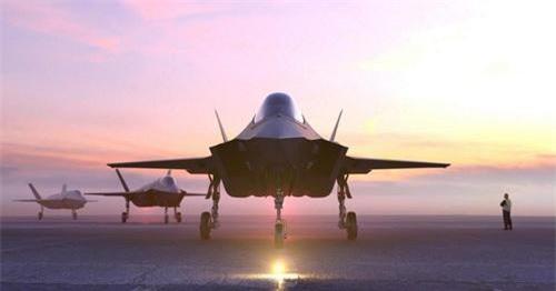 Tiêm kích tàng hình F-35I Adir của Israel sẽ có tầm bay vượt trội cả F-35A Lightning II. Ảnh: USAF.