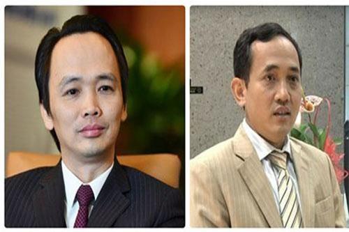 Ông Trịnh Văn Quyết (trái) bất lực nhìn giá cổ phiếu lao dốc. Cổ phiếu VCS của ông Hồ Xuân Năng (phải) vừa trải qua chuỗi tăng giá ấn tượng.