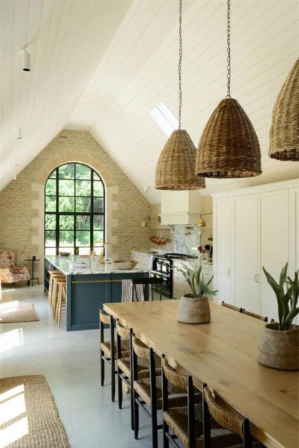 Phong cách thiết kế nhà bếp cổ điển kiểu Anh