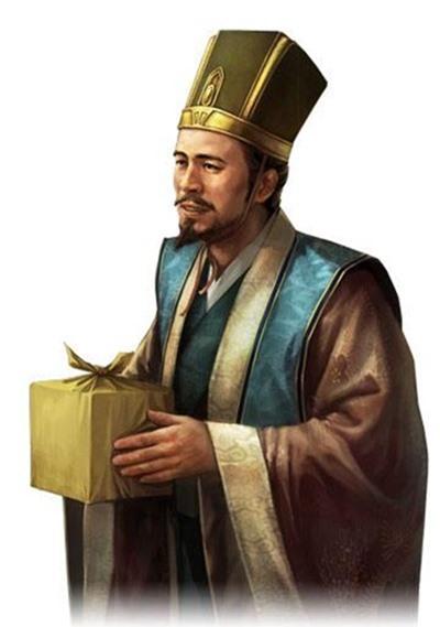 My Trúc là người được Lưu Bị coi trọng hơn huynh đệ kết nghĩa và quân sư Gia Cát Lượng. (Tranh minh họa: Nguồn Baidu).