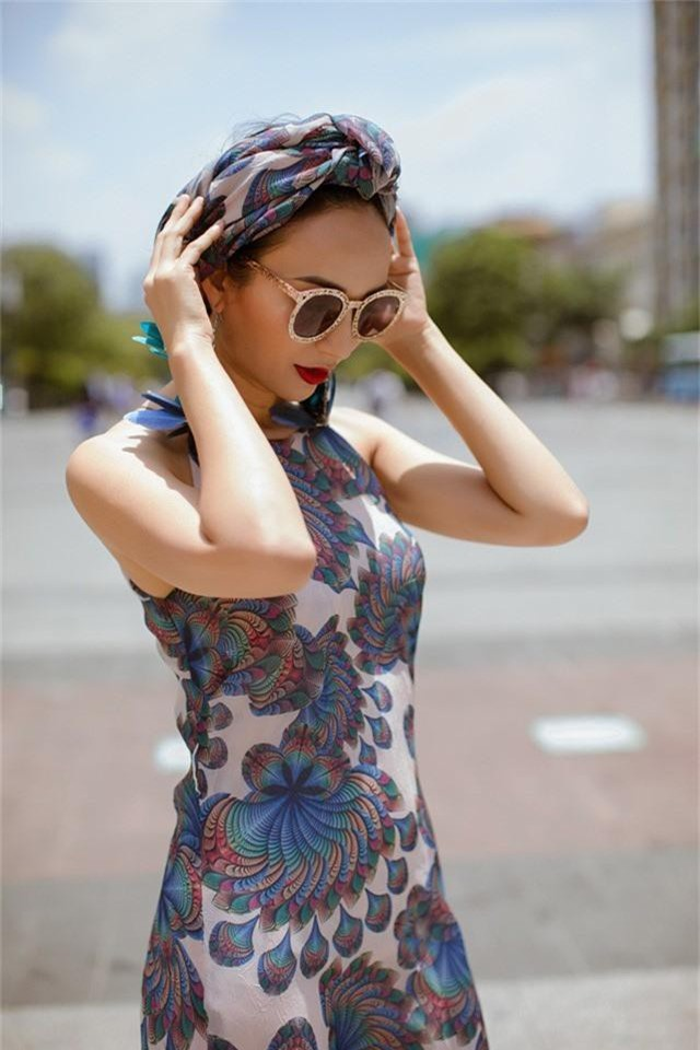 Hoa hậu Ngọc Diễm gợi ý mặc đẹp xuống phố - Ảnh 9.