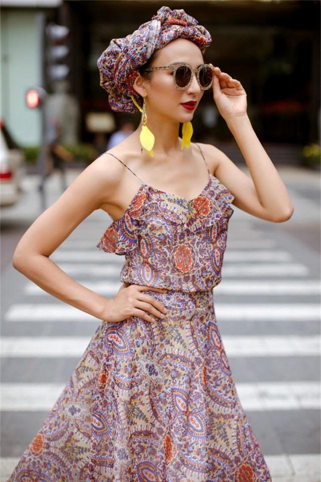 Hoa hậu Ngọc Diễm gợi ý mặc đẹp xuống phố - Ảnh 2.