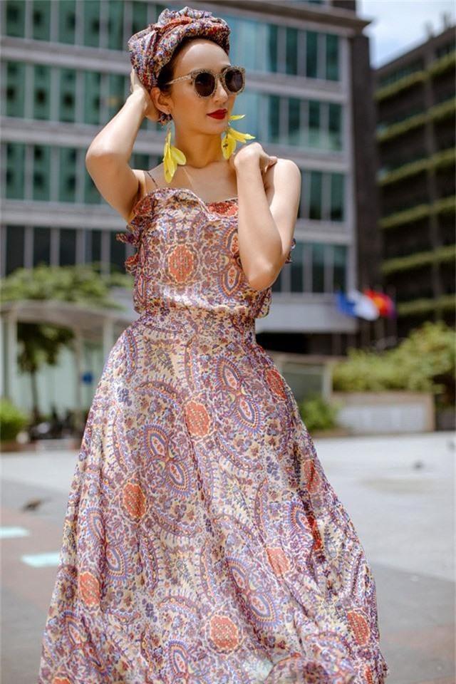 Hoa hậu Ngọc Diễm gợi ý mặc đẹp xuống phố - Ảnh 3.