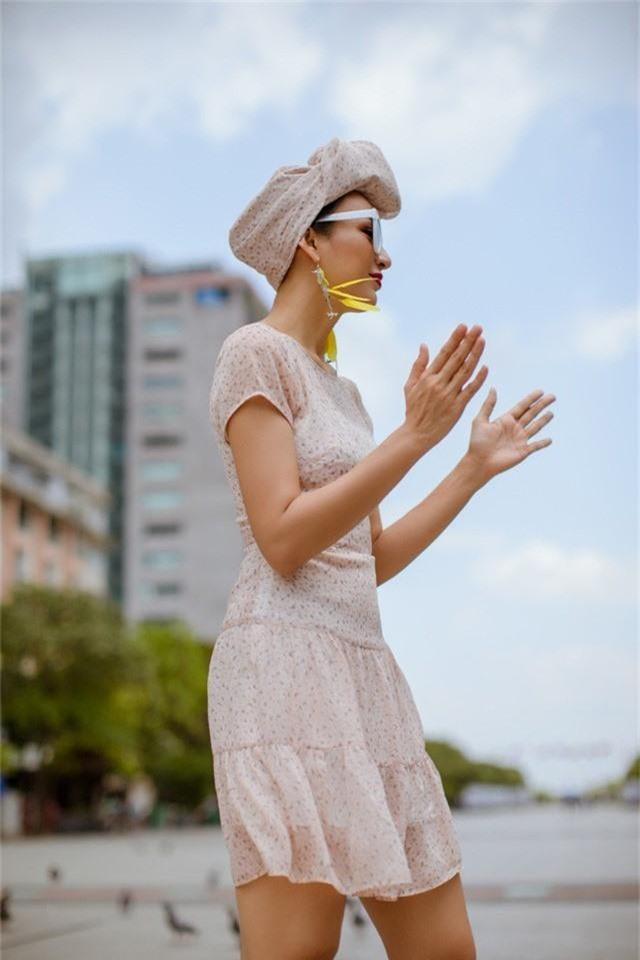 Hoa hậu Ngọc Diễm gợi ý mặc đẹp xuống phố - Ảnh 5.