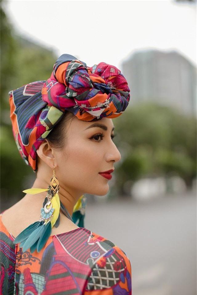 Hoa hậu Ngọc Diễm gợi ý mặc đẹp xuống phố - Ảnh 8.