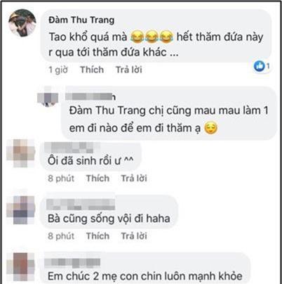 Khoe ảnh dành cả thanh xuân thăm hội bạn thân sinh em bé, Đàm Thu Trang khiến fan hối thúc: Bao giờ đến lượt chị? - Ảnh 4.