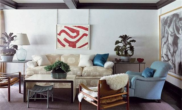 Phòng khách cũng là không gian có số lượng đồ nội thất cần thiết không hề ít.