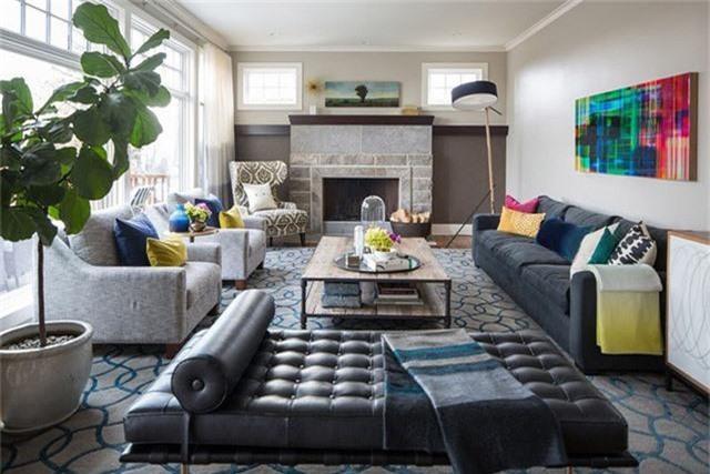 Để đảm bảo sự hài hòa và cân bằng trong căn phòng khách, bạn nên lựa chọn kích thước đồ nội thất tỷ lệ với diện tích căn phòng.