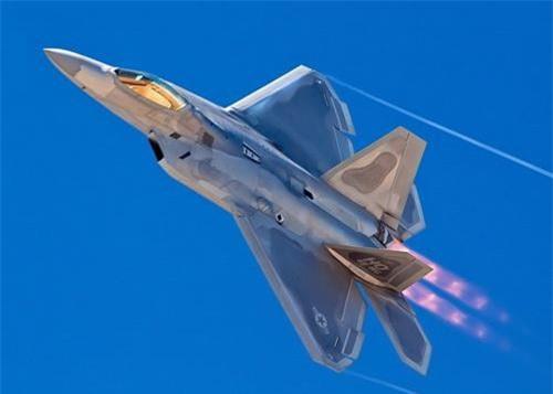 Tiêm kích tàng hình thế hệ 5 F-22 Raptor của Mỹ. Ảnh: Không quân Mỹ.