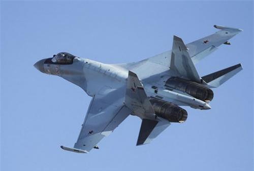 Tiêm kích đa năng Su-35S của Không quân Nga. Ảnh: Sputnik.