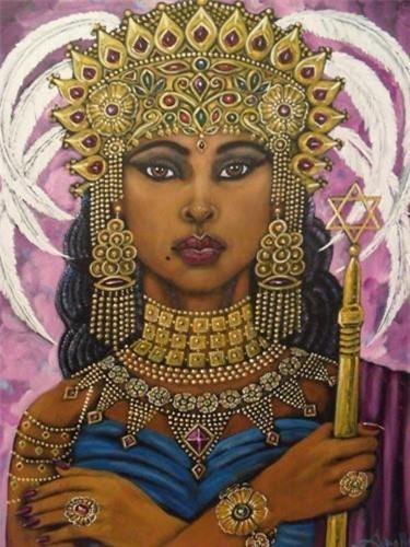 """Nữ hoàng Sheba trị vì vương quốc Sheba cổ đại được đánh giá là một trong những ông hoàng, bà chúa giàu có nhất lịch sử. Theo Kinh Cựu ước, Nữ hoàng Sheba đã du hành từ vương quốc của mình đến gặp Vua Salomon ở Jerusalem """"với một đoàn tùy tùng rất lớn, gồm lạc đà chở đầy hương liệu và rất nhiều vàng, đá quý""""."""