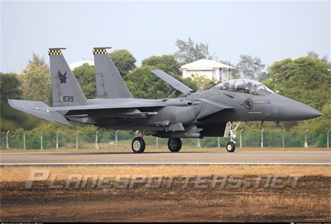 Mo xe tiem kich F-15SG xin nhat Dong Nam A cua Singpore-Hinh-4