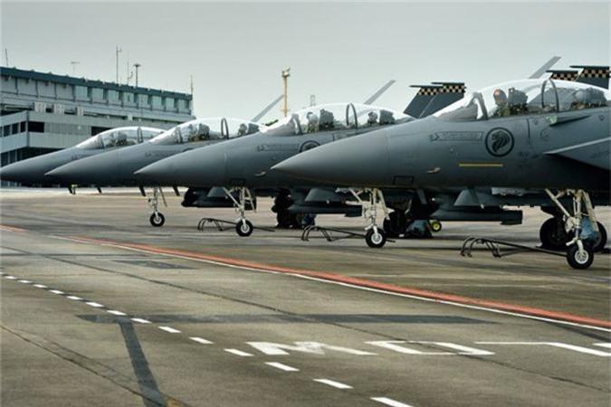 Mo xe tiem kich F-15SG xin nhat Dong Nam A cua Singpore-Hinh-8