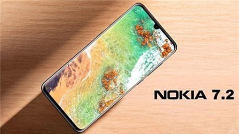 Nokia 7.2 xuất hiện với thiết kế siêu mỏng, cụm camera tròn