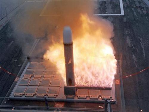 Tên lửa hành trình tấn công mặt đất BGM-109 Tomahawk. Ảnh: National Interest.