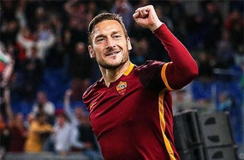 8. Francesco Totti (101,6 triệu USD). Ảnh: Bongdaplus.vn.
