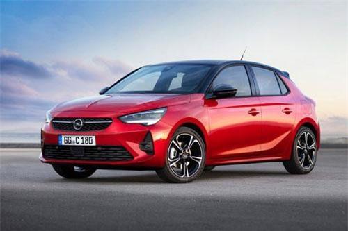 5. Opel Corsa (doanh số: 33.059 chiếc).