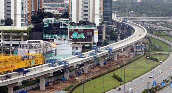 Dự án metro số 1 (Bến Thành - Suối Tiên) và dự án metro số 2 (giai đoạn 1 Bến Thành - Tham Lương) dự kiến hoàn thành trong giai đoạn 2021-2025.