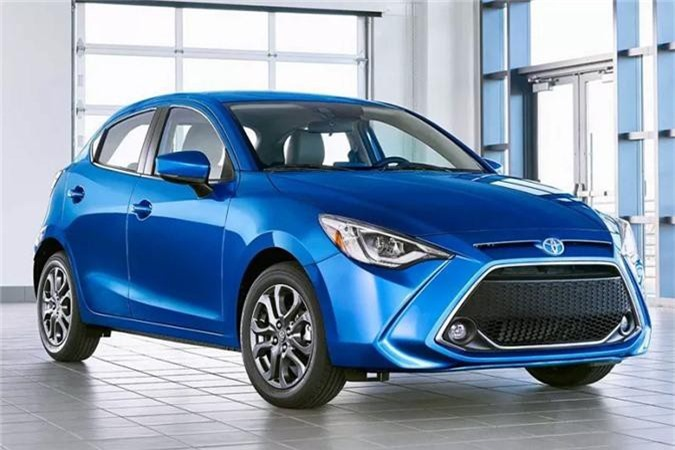 Toyota Yaris hatchback 2020.