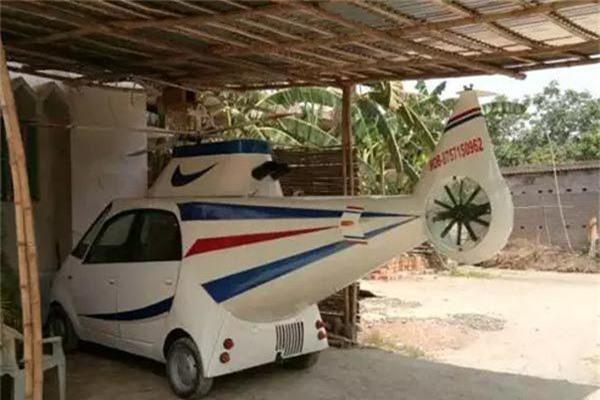 Ngắm chiếc xe hơi 'lai trực thăng' trên đời chỉ có một