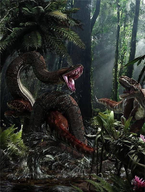 Trăn khổng lồ Titanoboa: Con quái vật có thể nuốt chửng cả khủng long - Ảnh 2.