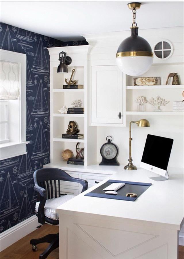 Bạn có thể lựa chọn kiểu đèn hình cầu cho phòng làm việc tại nhà, phòng ngủ, phòng bếp và cả phòng khách của gia đình.