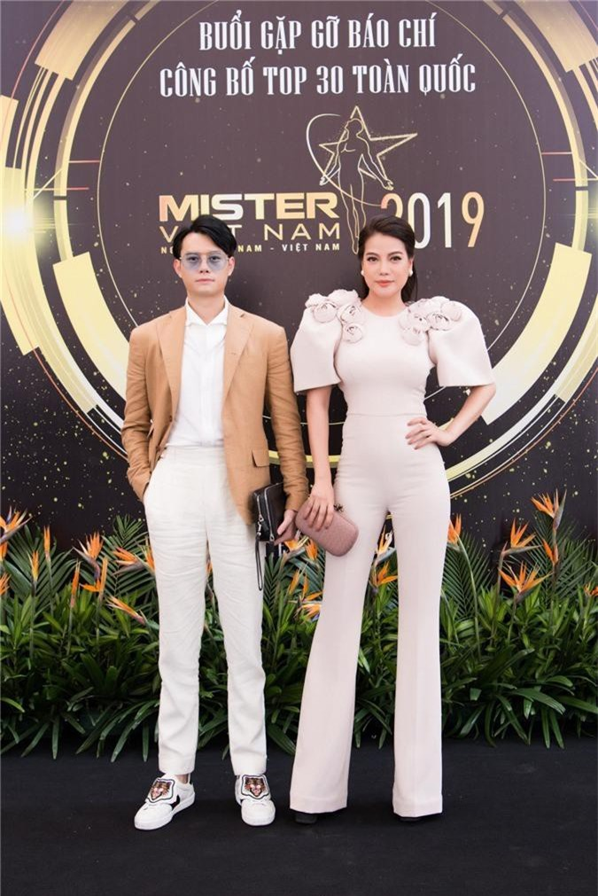 Từ trái sang, Diễn viên - Anh Dũng, Diễn viên, Nhà sản xuất - Trương Ngọc Ánh