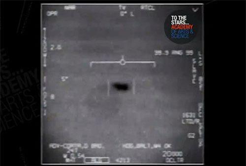 Một UFO xuất hiện trên màn hình radar.