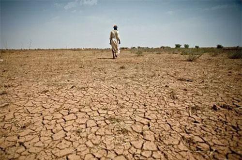 Nhiều nơi trên thế giới thiếu nước sản xuất và sinh hoạt do khô hạn. Ảnh: @Oxfam International