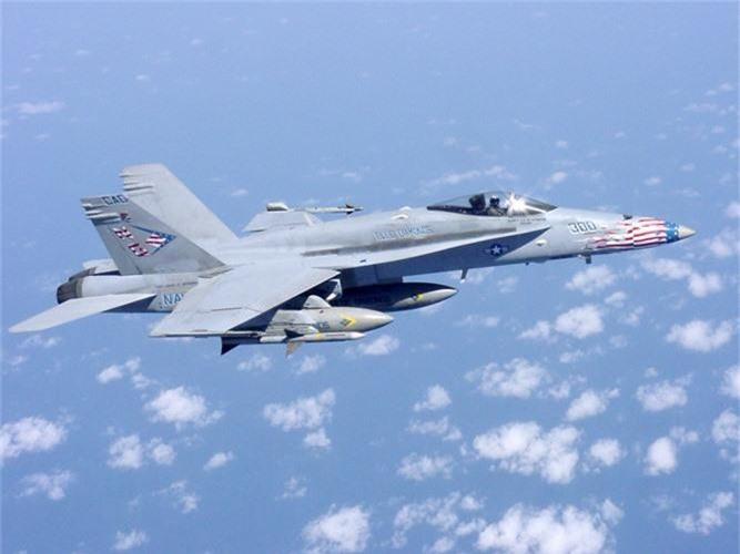 Vi sao F-18 NATO dam