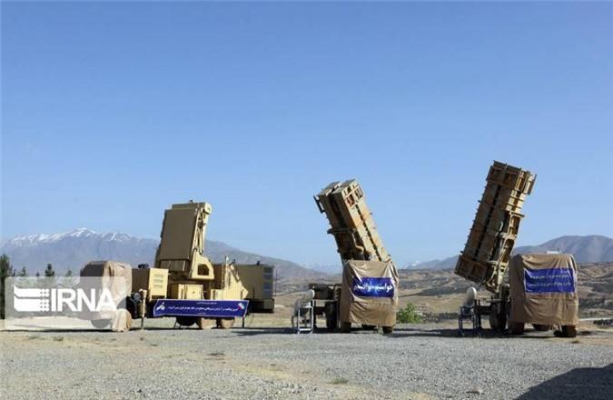 Các tổ hợp tên lửa phòng không Hordad-15. Ảnh: topwar.ru
