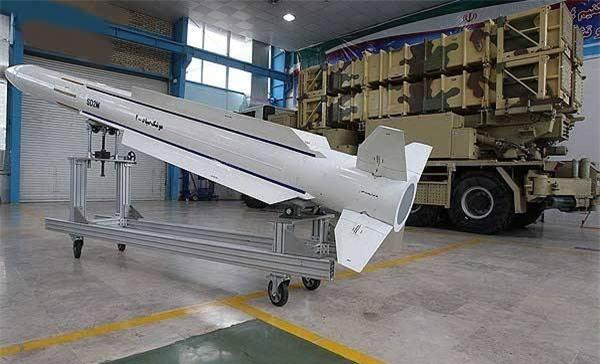 Tên lửa Sayad-2. Ảnh: topwar.ru