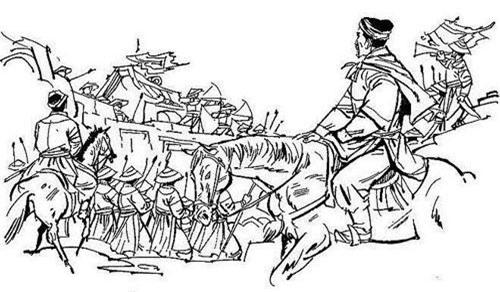 Nguyễn Hữu Dật là một trong những tướng tài nhất của chúa Nguyễn. Hình minh họa.