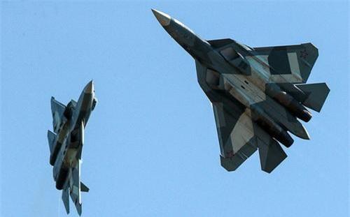 Chiến đấu cơ thế hệ 5 Sukhoi Su-57. Ảnh: Sputnik.