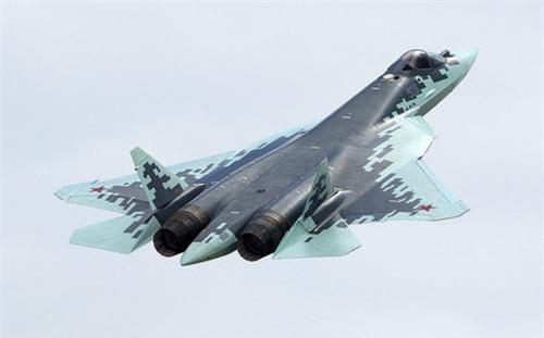 Su-57 đã bộc lộ khá nhiều điểm yếu trong quá trình thử lửa tại Syria. Ảnh: Sputnik.